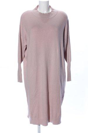 JCL Robe en maille tricotées rose style décontracté