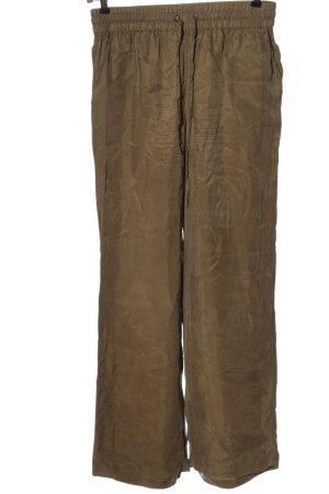 JcSophie Pantalon «Baggy» bronze style décontracté