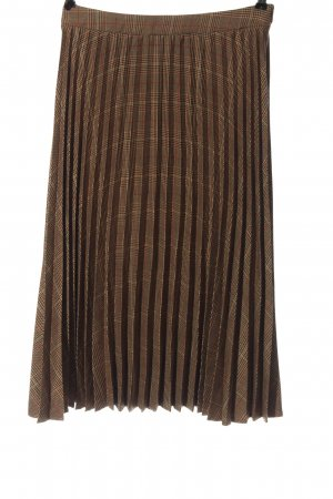 JcSophie Flared Skirt brown-red allover print casual look