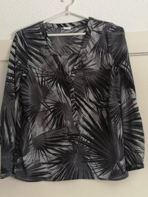 JDY BY ONLY Bluse- Tunika  schwarz/grau