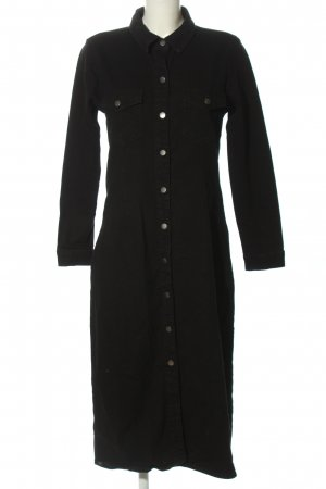 JDY denim Frock Coat black casual look