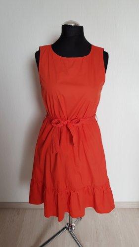 JDY Kleid aus Baumwolle Gr.38 Orange