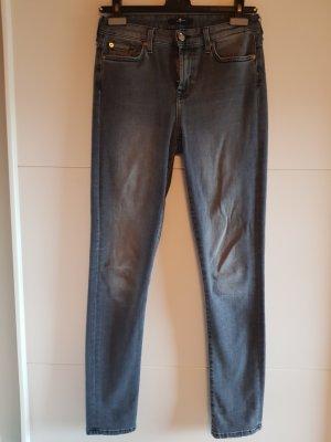 7 For All Mankind Pantalone a sigaretta grigio-grigio scuro