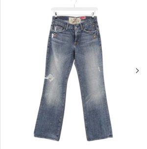 7 For All Mankind Jeans a gamba dritta grigio ardesia