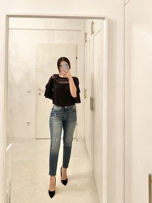 Mavi Jeans vita bassa grigio ardesia