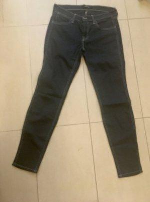 J brand Jeans stretch bleu foncé coton