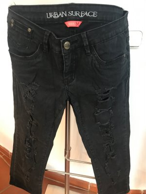 Urban Surface 3/4 Length Trousers black