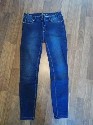 FB Sister Dopasowane jeansy ciemnoniebieski