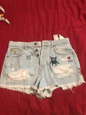 Jean Hot Pants