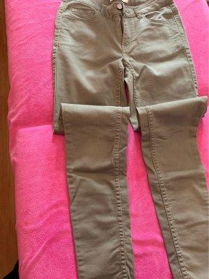 Pieces Hoge taille jeans groen-grijs Katoen