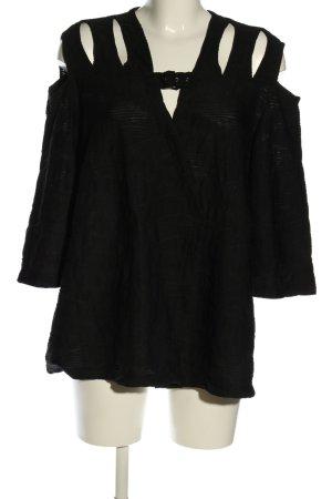 Jean Marc Philipp Paris Tunika czarny W stylu casual