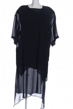 Jean-Marc-Philippe Kurzarmkleid schwarz Elegant