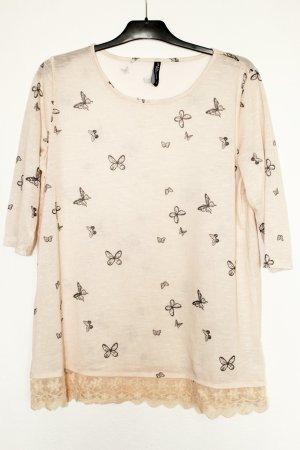 Jean Pascale 3/4 Arm Shirt Schmetterling