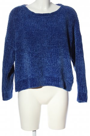 Jean Pascale Fleece Jumper blue casual look