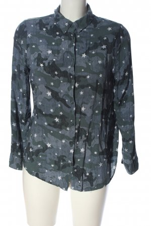 Jean Pascale Hemd-Bluse Camouflagemuster Casual-Look