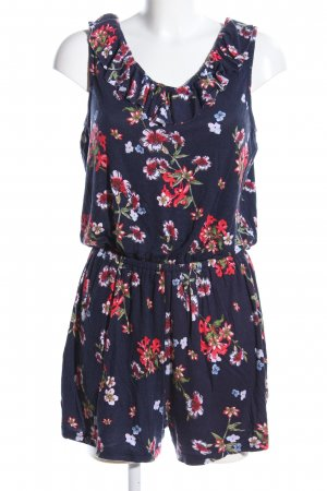 Jean Pascale Jumpsuit Blumenmuster Casual-Look