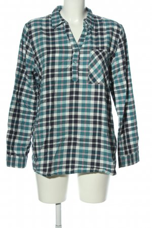Jean Pascale Karobluse Karomuster Casual-Look