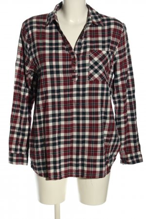 Jean Pascale Checked Blouse check pattern casual look