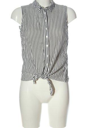 Jean Pascale Koszula z krótkim rękawem biały-czarny Na całej powierzchni