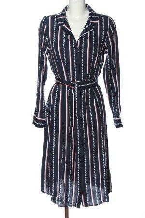 Jean Pascale Robe chemise motif rayé style décontracté