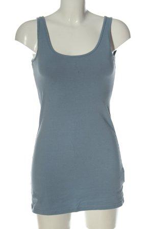 Jean Pascale Długi top niebieski W stylu casual