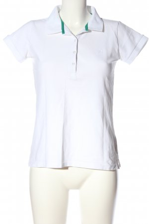 Jean Pascale Polo-Shirt weiß Casual-Look