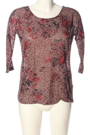 Jean Pascale Slip-over blouse veelkleurig casual uitstraling