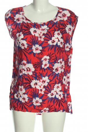 Jean Pascale Knitted Top flower pattern casual look