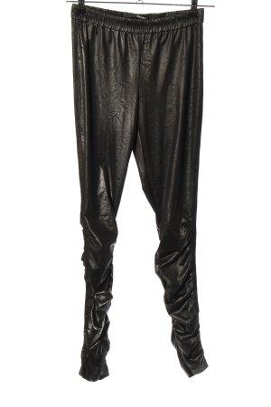 Jean Paul Berlin Leggings schwarz extravaganter Stil