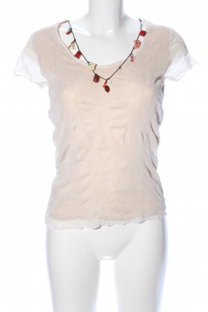 Jean Paul Berlin Netzshirt creme Casual-Look