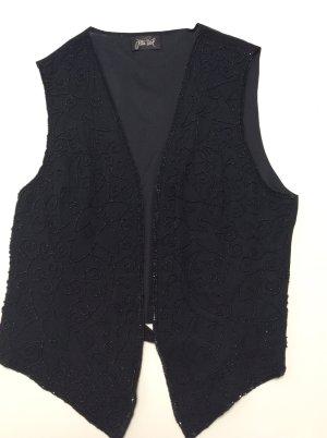 Jean Paul Chaleco de vestir negro