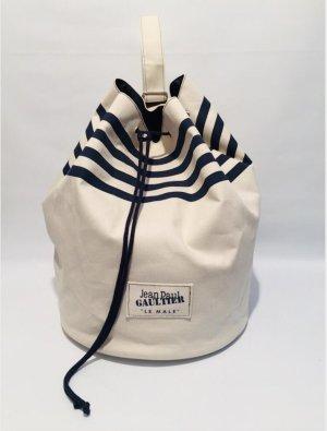 Jean Paul Gaultier Beuteltasche Sac Beachbag mit Streifen