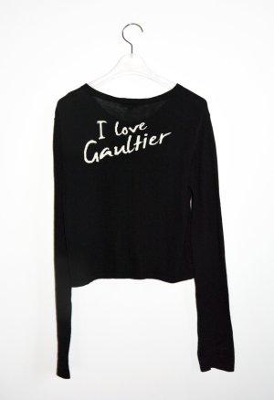 Jean Paul Gaultier Cardigan Strickjacke I love Gaultier XS S