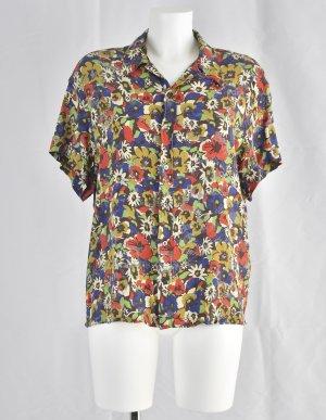 Jean Paul Gaultier Blouse Shirt multicolored silk