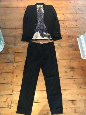 Jean Paul Gaultier Traje de pantalón negro