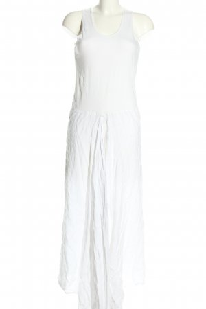 Jean Paul Gaultier Long-Bluse weiß Casual-Look