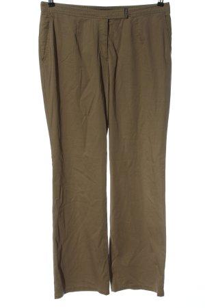 Jean Paul Pantalon taille haute kaki style décontracté