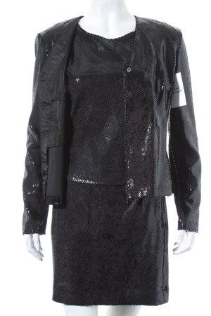 Jean Paul Kostüm schwarz