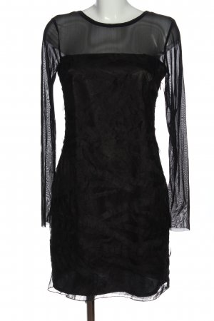 Jean Paul Langarmkleid schwarz Elegant
