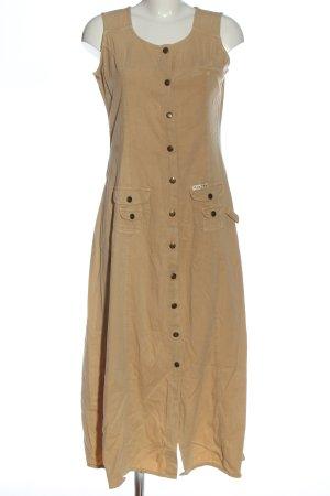 Jean Paul Sukienka midi w kolorze białej wełny W stylu casual