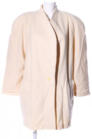 Jean Paul Wollmantel creme Casual-Look