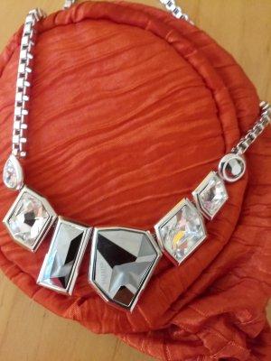 Jean Paul Gaultier Collier Necklace light grey