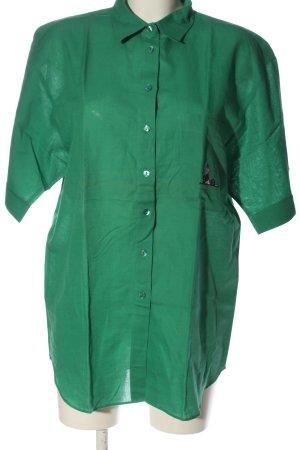 Jean Rene Camisa de manga corta verde look casual