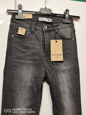 & DENIM Stretch Jeans dark grey