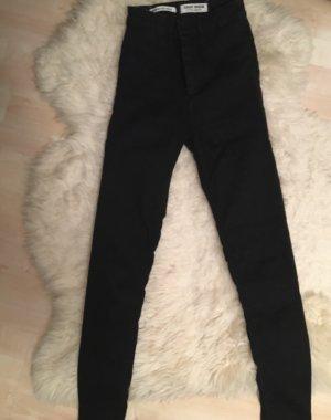 Tally Weijl Hoge taille jeans zwart Gemengd weefsel
