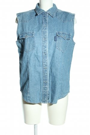 JEANAGERS Jeansweste blau Casual-Look