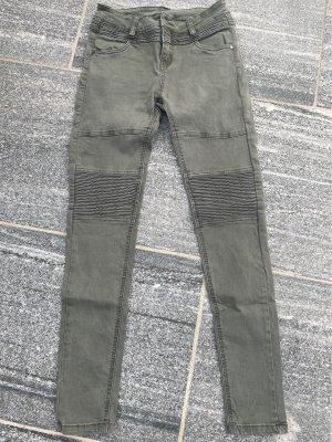 Jeanhose in grün