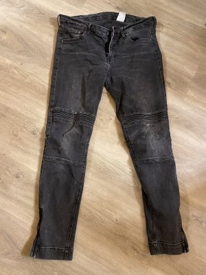 Jeanhose schwarz/grau