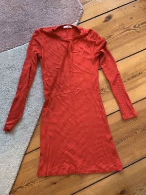 Jeanne Dress Rotes Strickkleid Mini-Dress von The Reformation in Größe S NEU Knit-Dress