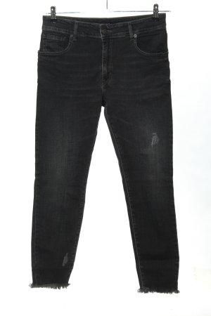 "Jeanne Vouland Skinny Jeans ""Jeanne Vouland // ""Jean Edeen Stonewashed Noir"""""